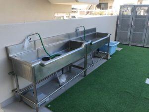 ホテルピースアイランド宮古島市役所通り洗い場