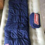 キャンプ用品だけど普段使いできるもの2「スリーピングバッグとベッド」