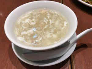 福盈門 蟹肉入りフカヒレとろみスープ