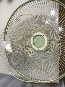 扇風機食洗機洗浄後
