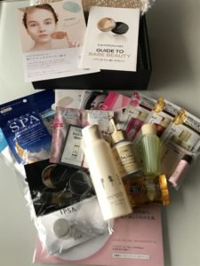 @cosme shopping SELECT BOX中身
