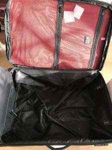 ヒデオワカマツ スーツケース フライII ポケット取り外し