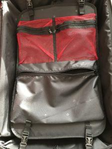 ヒデオワカマツ スーツケース フライII ポケット