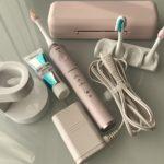 電動歯ブラシ パナソニックドルツ ステインオフモデル EW-DE45-P【ソニッケアーX6972/10(X6950)から買い換え】