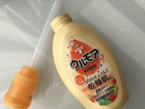 ウルモア 保湿入浴液 クリーミーフルーツの香り