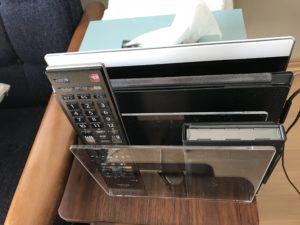 無印良品 アクリル仕切りスタンド3仕切り 133×210×160㎜ PC収納
