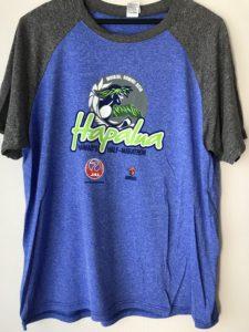 ホノルルハーフマラソンハパルア2018 記念Tシャツ男性用