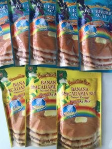 ハワイアンサン パンケーキミックス バナナマカダミアナッツ ブルーベリーアサイー