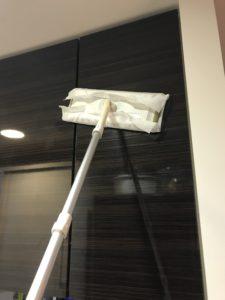 吊戸棚掃除