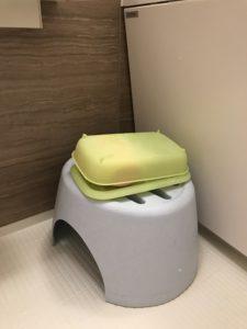 バスルーム風呂石鹸置きbefore