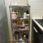 キッチン収納にメタルラックは不向き すき間収納家具設置計画