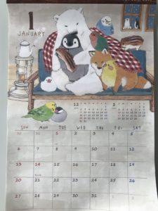100円ショップカレンダー