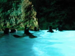 真栄田岬青の洞窟2012年9月