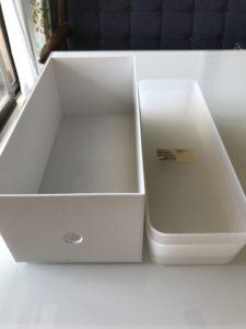 無印良品 ポリプロピレンファイルボックススタンダードワイド1/2ポリプロピレン整理ボックス4