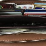 バッグを軽量化 財布機能バッグかスリム財布か