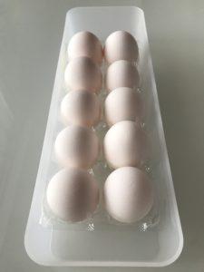 卵収納 無印良品ポリプロピレン整理ボックス4