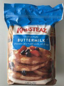 コストコ KRUSTEAZ バターミルクパンケーキミックス 4.53kg