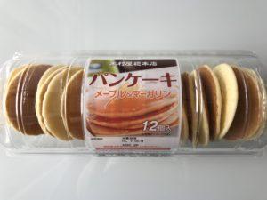 コストコ 木村屋総本店 パンケーキメープル&マーガリン12個入り