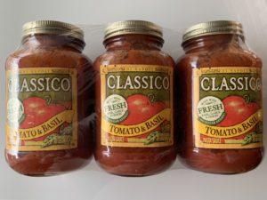クラシコ トマト&バジル トリプルパック(907g×3)
