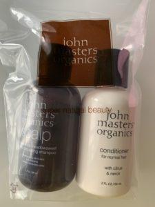 ジョンマスターオーガニックjohn masters organics S&Mスキャルプシャンプー C&NコンディショナーN60ml LUXURY BOX BLOOMBOX by @cosme× HANKYU BEAUTY2019