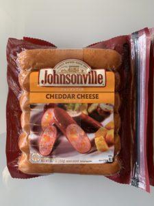 コストコ ジョンソンヴィルソーセージ チェダーチーズ 396g×2
