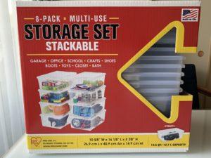 コストコ IRISアイリスオーヤマ 8PACK STRAGE SET(マルチ収納ボックス8個セット)